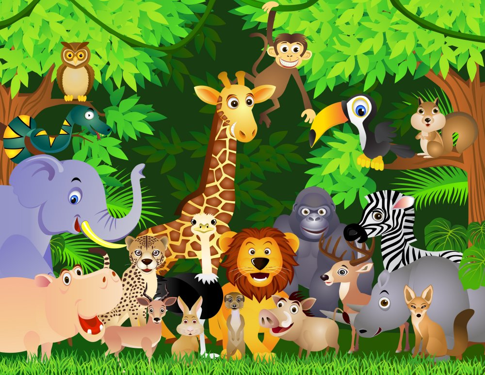 Animal Kingdom clipart fauna 29 variety of a We