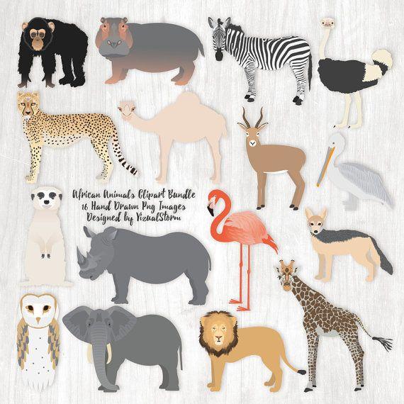 Animal Kingdom clipart native african Animal #safarianimalclipart African Wildlife 159