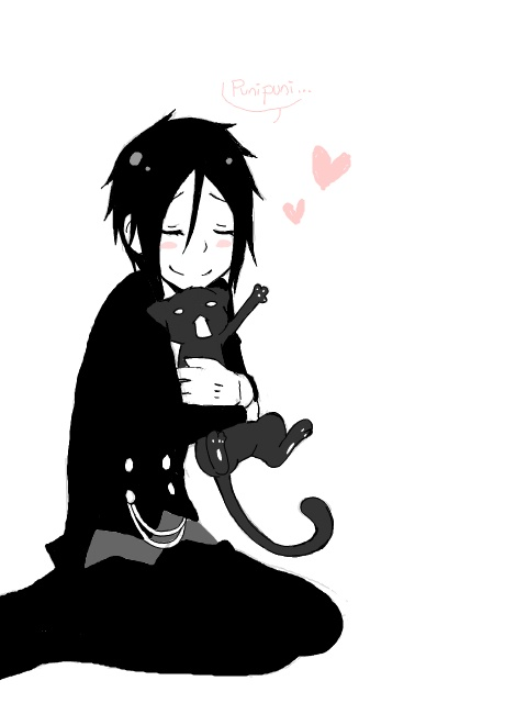 Anime clipart little And on best Find Black