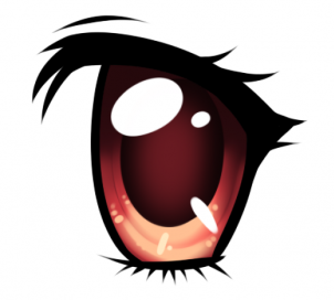 Anime clipart eye mouth Eyes and to Anime eyes