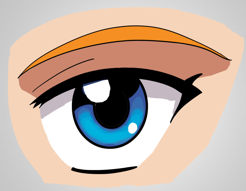 Anime clipart eye mouth Drawing Part The Anime Edward