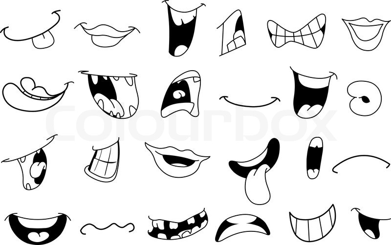 Anime clipart eye mouth Clipart mouth collection (50+) Nose
