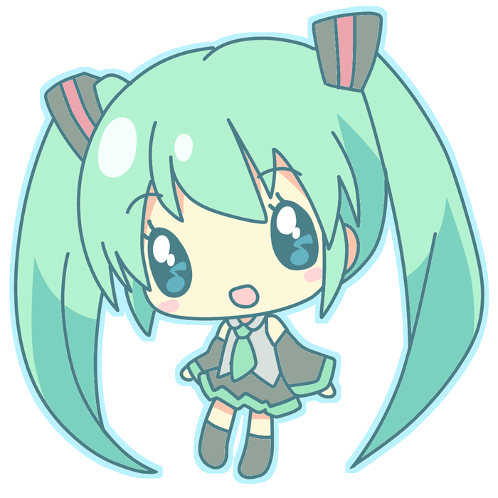 Anime clipart hatsune miku Render by Melody Hatsune ArtByMelody