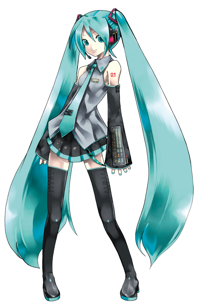 Anime clipart hatsune miku Clipart Hatsune Miku PNG Clipart