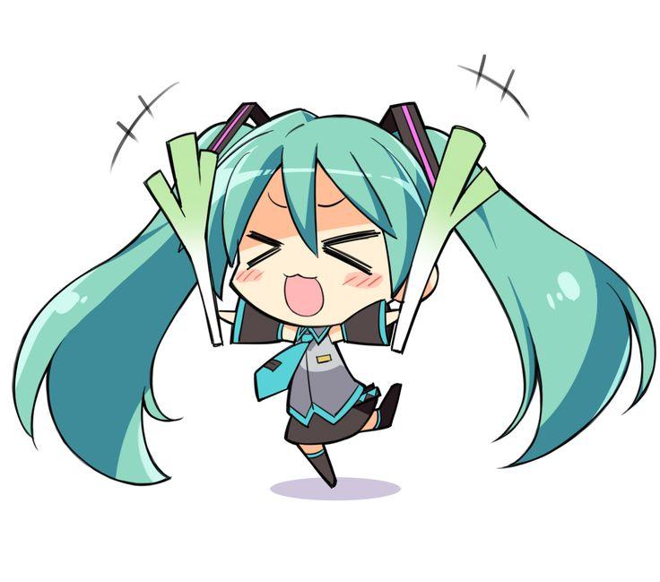 Anime clipart hatsune miku  Chibi <3 Pinterest and