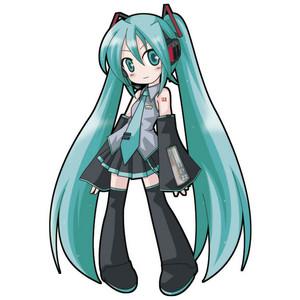 Anime clipart hatsune miku Clipart miku chibi clipart Hatsune