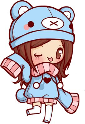 Anime clipart kawaii She a ideas Pinterest waaaay
