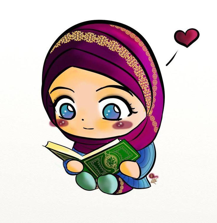 Anime clipart lady #islam images #cartoon #anime #Hijab
