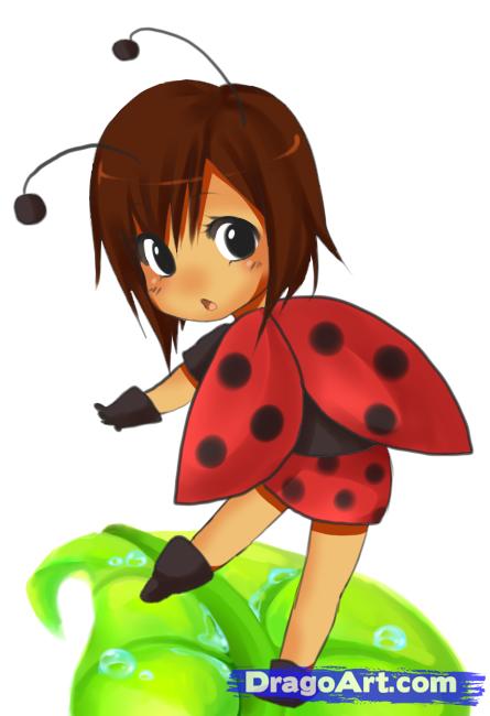 Anime clipart lady Girl Step Anime Girl Lady