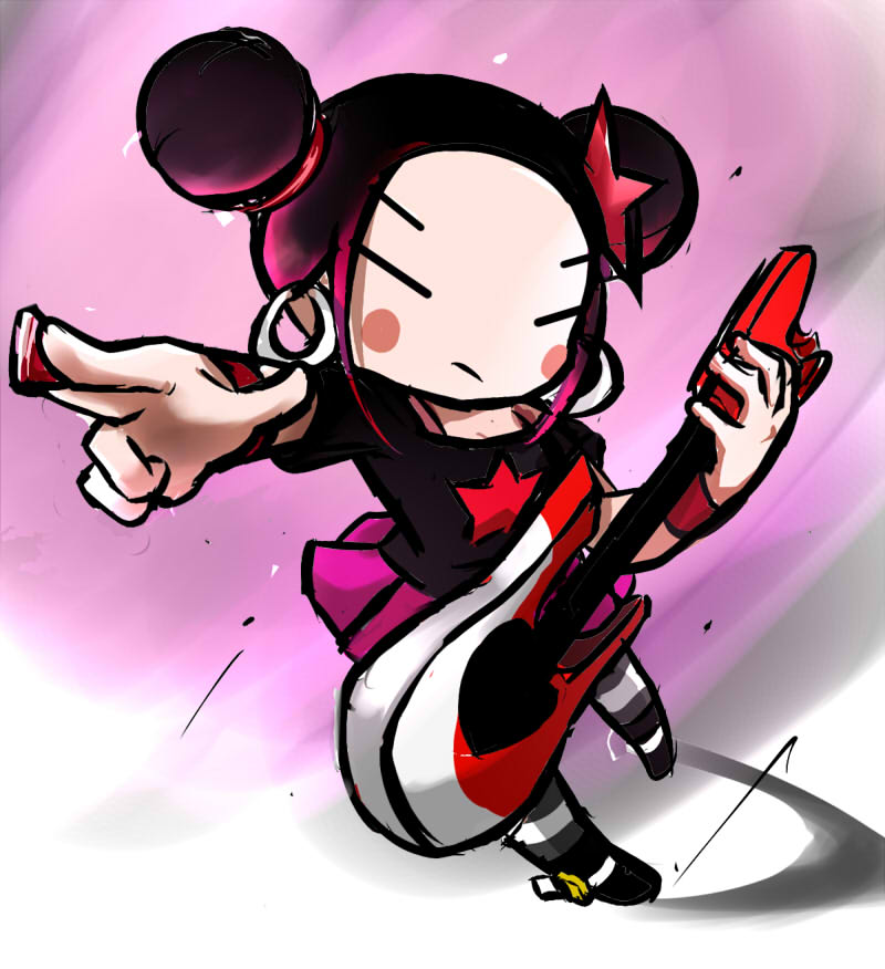 Anime clipart punk rock By com punk pucca pucca