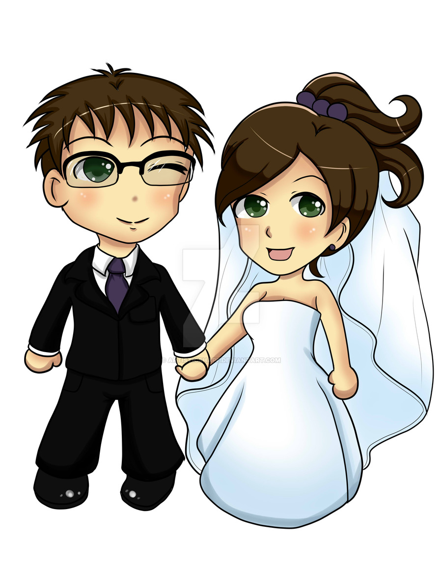 Anime clipart wedding By Invitation by by artisticshape