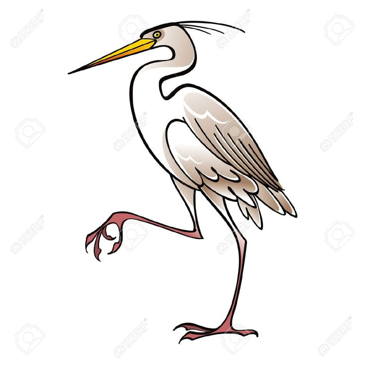 Brds clipart crane 16 on Bird Pinterest Art