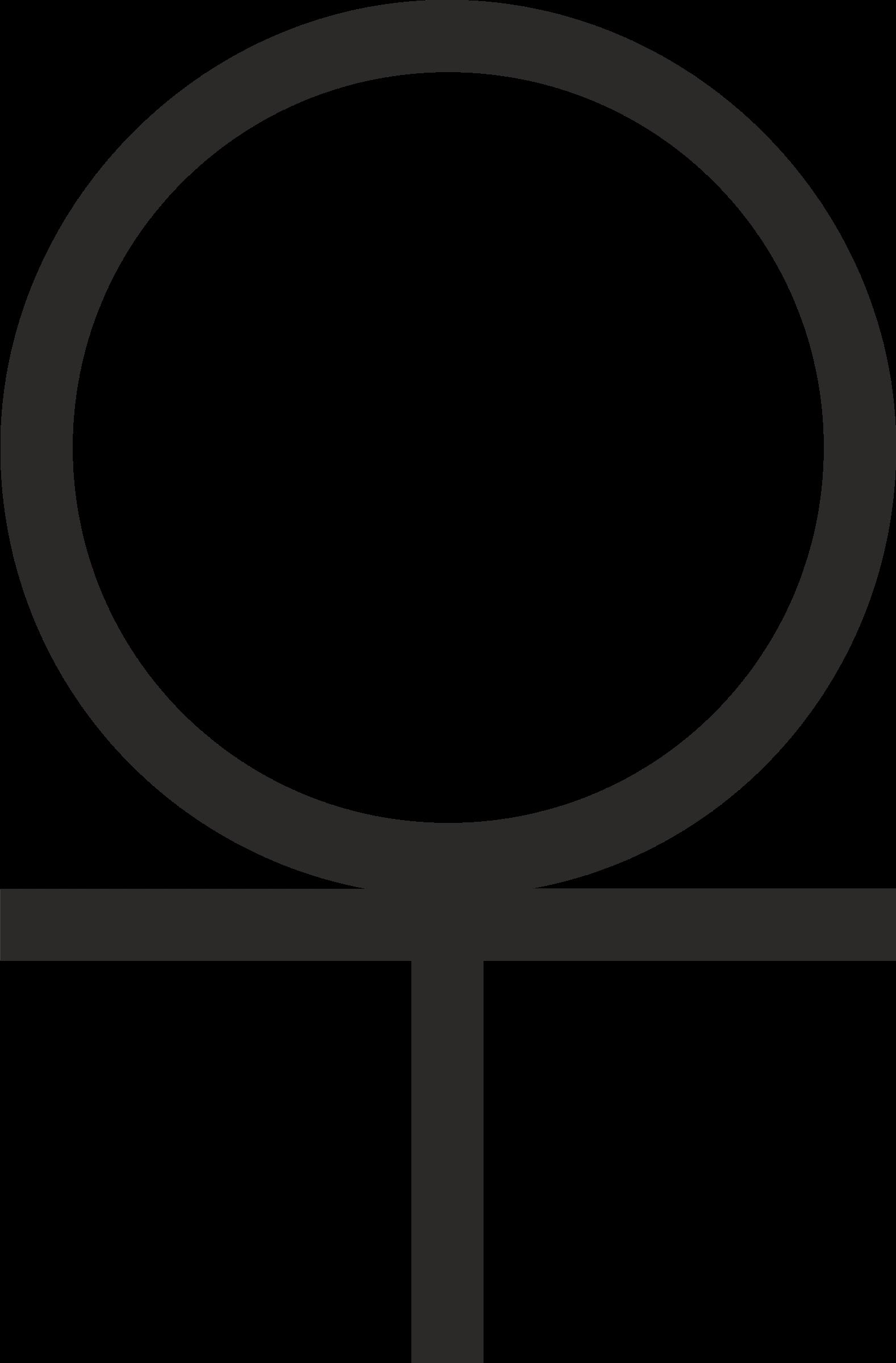 Ankh clipart cross Cross Circle Below 3/4 Ankh