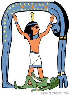Ankh clipart egyptian god #12