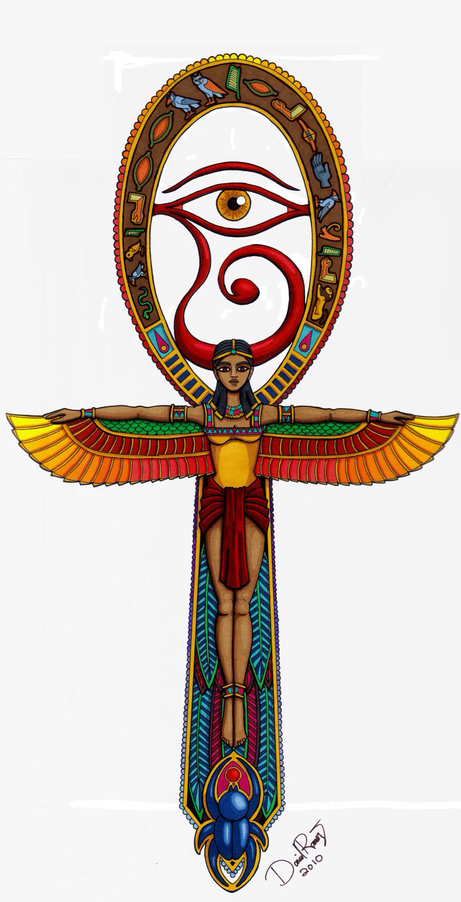 Ankh clipart religious Isis and design Pinterest Ankh