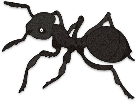 Ant clipart Ant Black Clipart ant black
