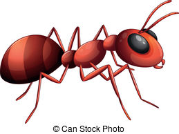 Ant clipart Illustration on an and Ant