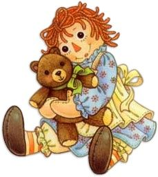 Doll clipart raggedy ann and andy Made God by created