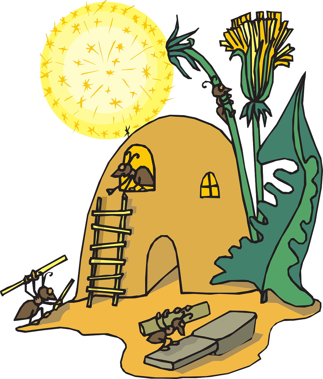 Ants clipart hard working Home 44594_1280 Facts Cool Ant