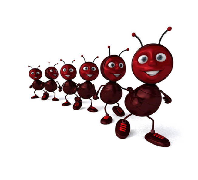 Ant clipart ant trail Canyon Army · Pictures To