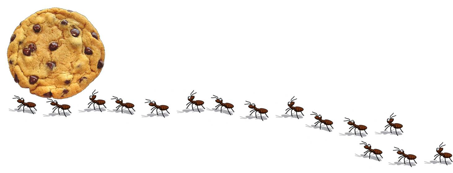 Ants clipart marching Of of clipart Clipart Ant