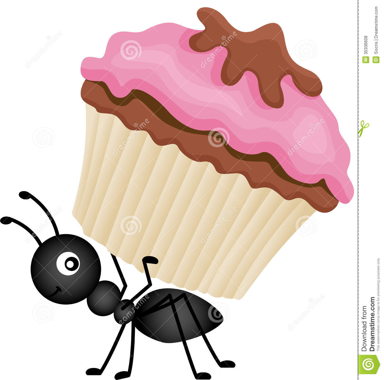 Ant clipart artist Cake Clipart  Ants Carrying