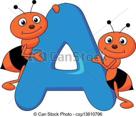 Ant clipart artist  A illustration Vector of