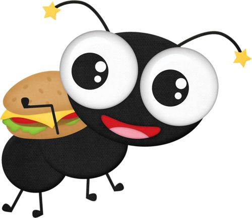 Hamburger clipart face Images on 2 42 Formigas