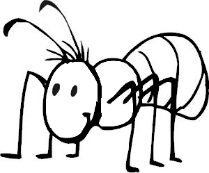 Ants clipart hard working Ant%20clipart%20black%20and%20white Ant Black Clipart Clipart