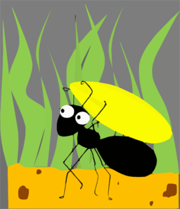 Ants clipart small animal At online Clker free Art