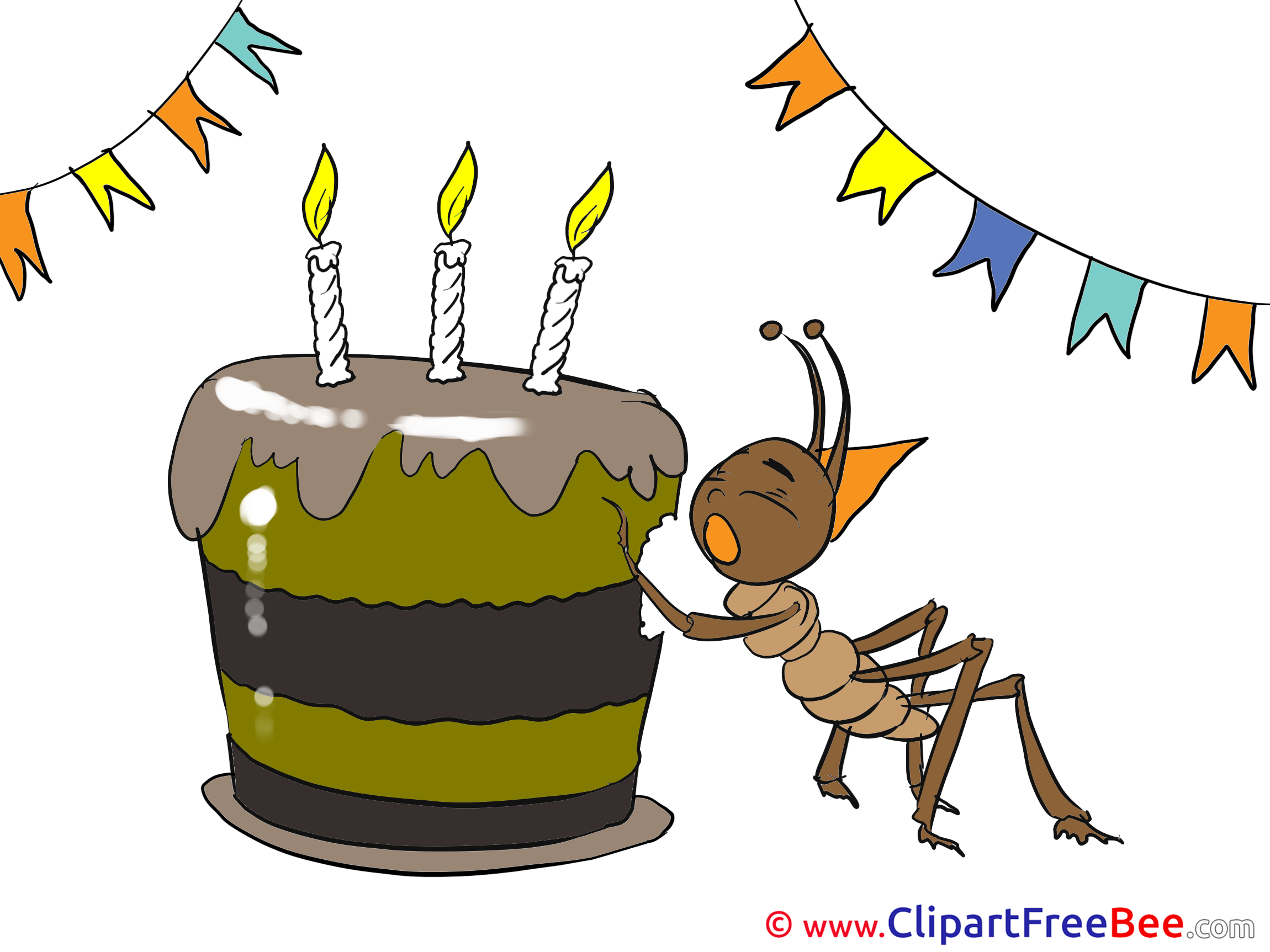 Ant clipart cake For Cake Illustrations free