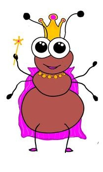 Ant clipart cake Clipart cliparts Queen Ant Ants