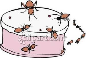 Ant clipart cake Free a Royalty Royalty a