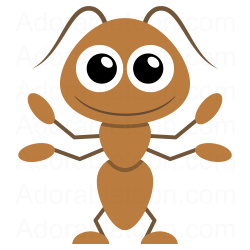 Baby clipart ant Clipart motyle Pinterest Ant clipart