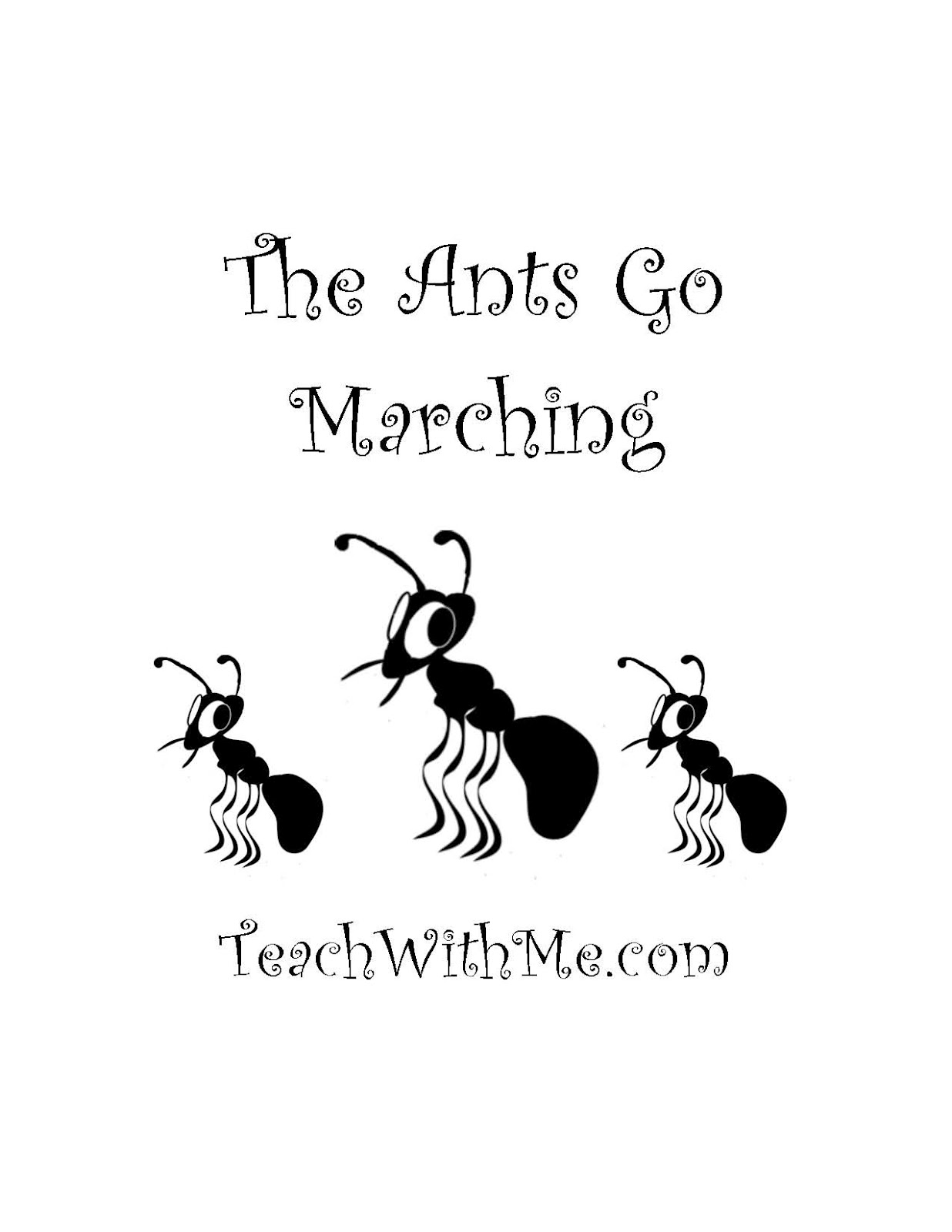 Ants clipart marching Resolution Ants Go Clipart