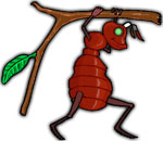 Ants clipart hard working Ants Clipart Ant working carrying