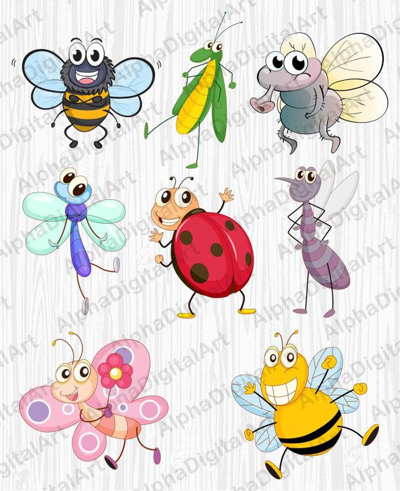 Caterpillar clipart bee Clipart ant butterfly clipart clipart