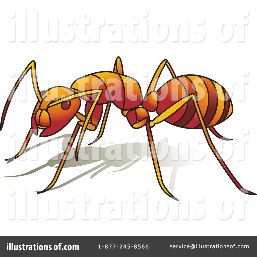 Ant clipart invertebrate Illustration Free (RF) by Lal