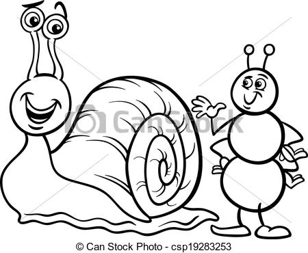 Ant clipart snail White Free Clip Images Panda