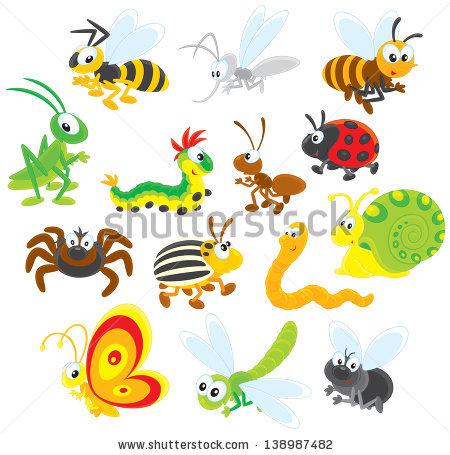 Ant clipart snail Snail dragonfly fly potato of