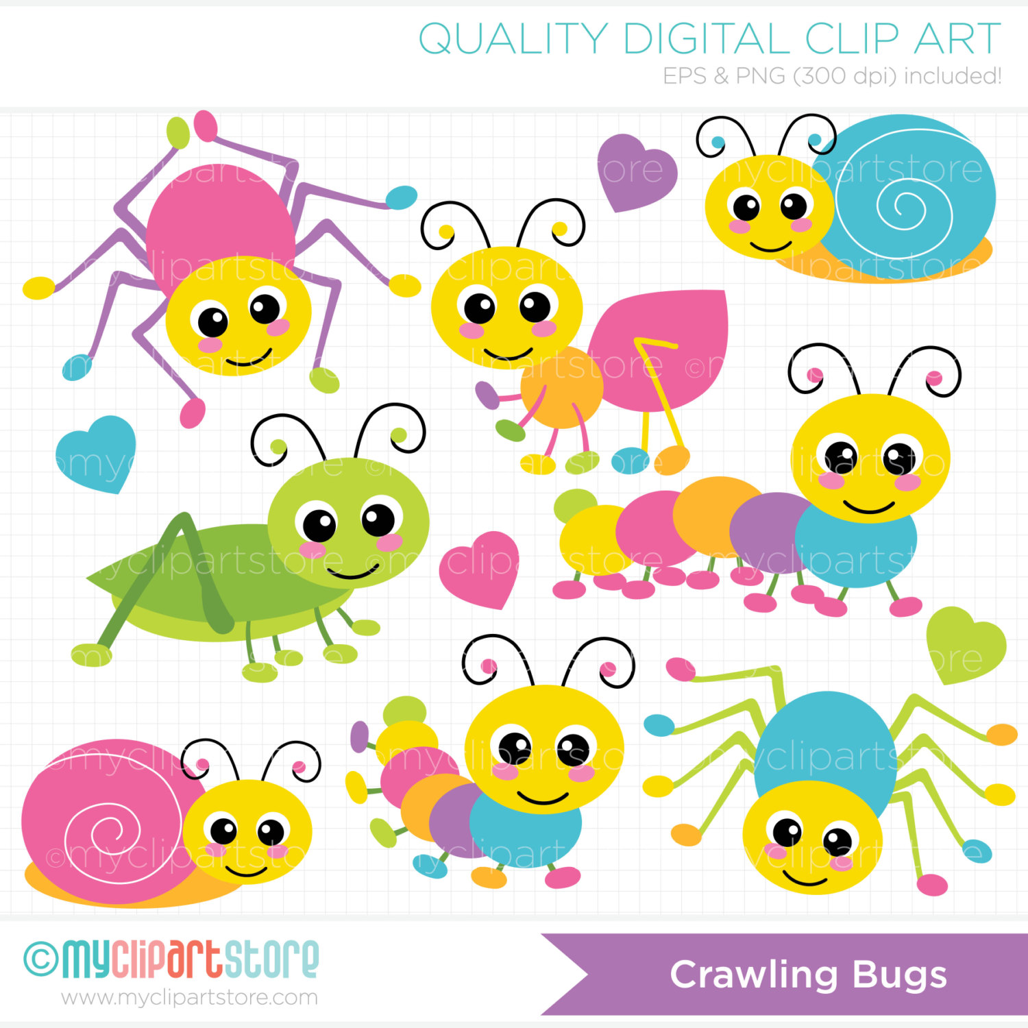 Ant clipart snail Crawling Insects /  a