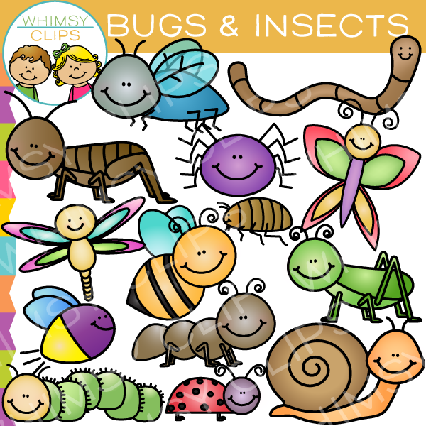 Bug clipart whimsical Insects Clips Images Art Whimsy