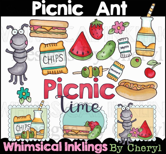 Ant clipart whimsical Etsy from Clipart Collection SuzieQsCrafts
