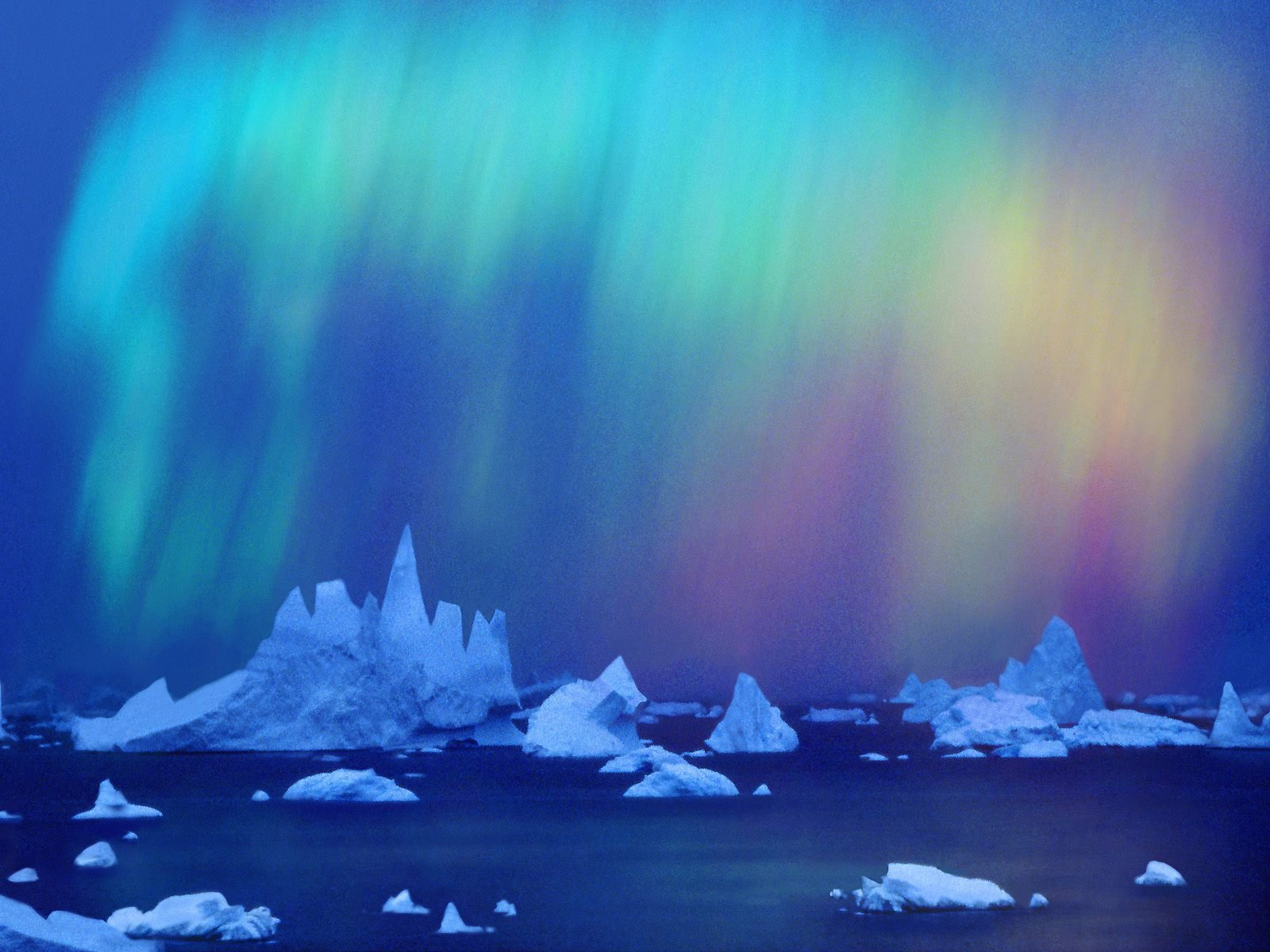 Antarctica clipart background For Polar PPT Backgrounds Holiday