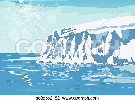 Antarctica clipart iceberg In Stock Antarctic Stock
