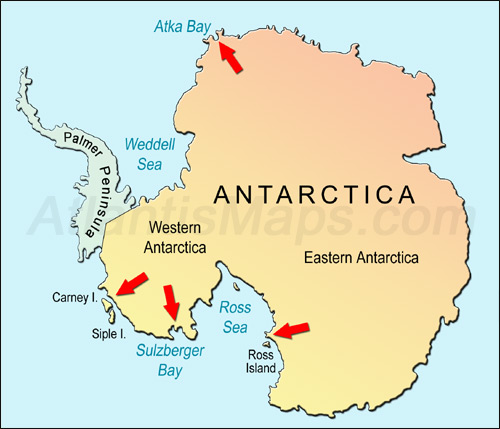 Antarctica clipart background Map A Discovery Year 1