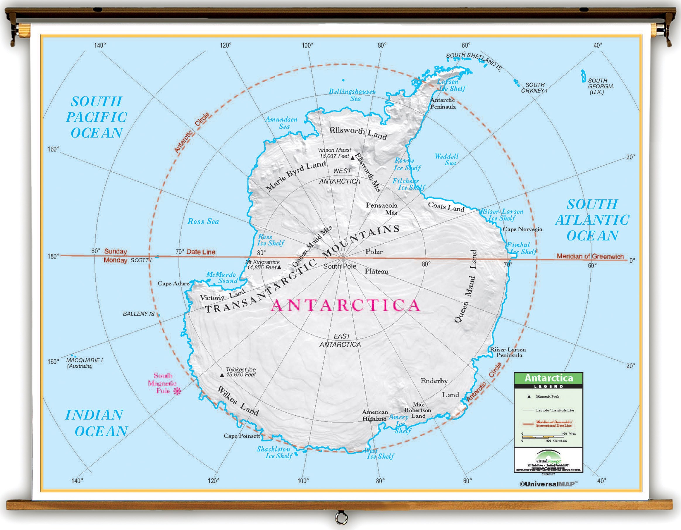 Antarctica clipart latitude and longitude And Longitude Latitude And Map