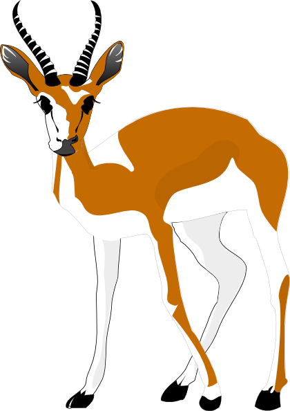Antelope clipart Clip at Download Art online