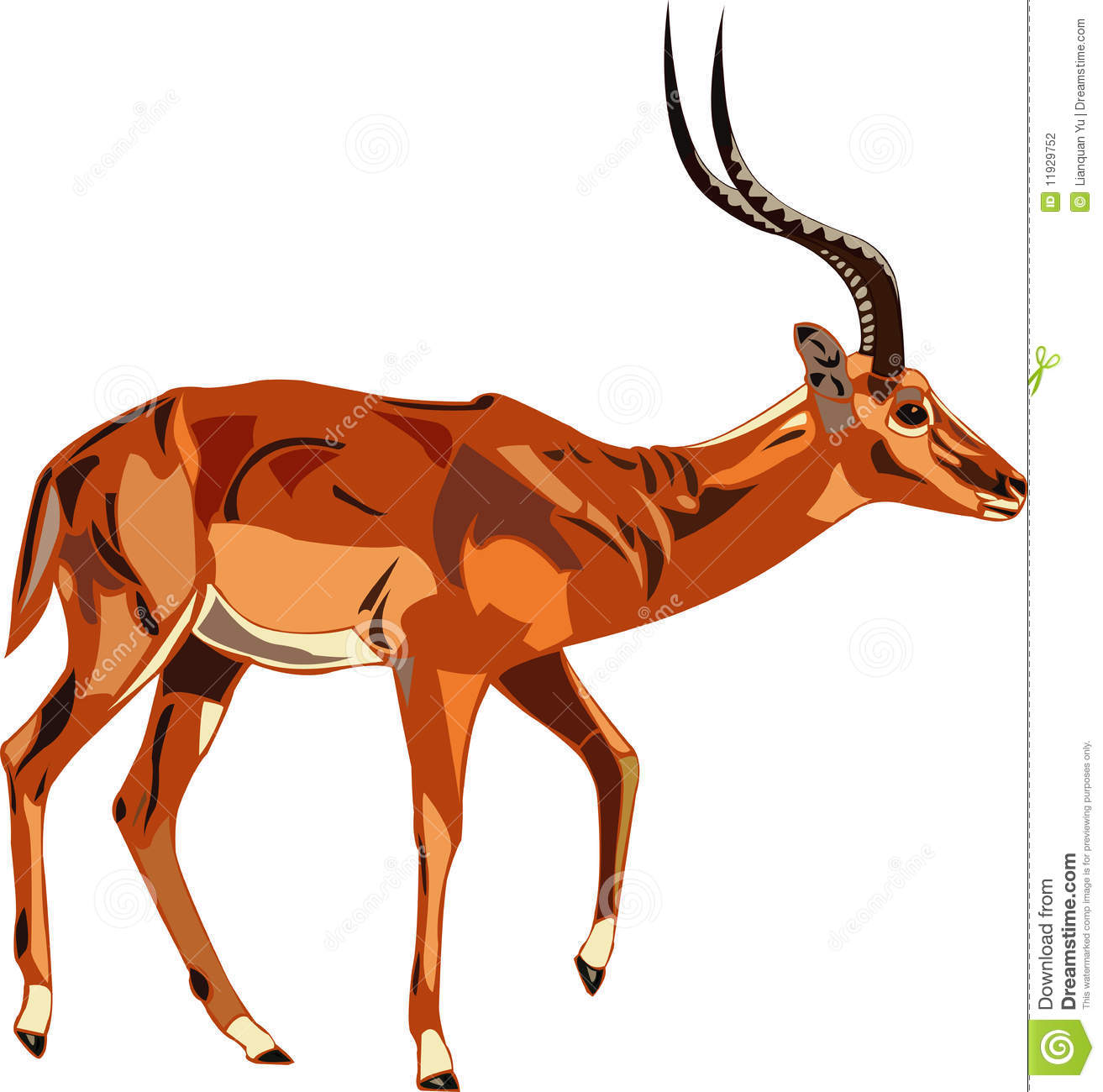 Impala clipart Clipart Free Antelope Images 20clipart