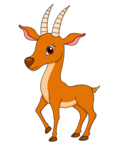 Antelope clipart Standing 99 Art Free Graphics
